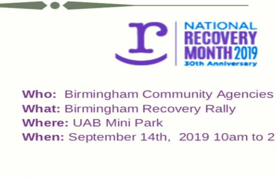 Bham Recovery Rally