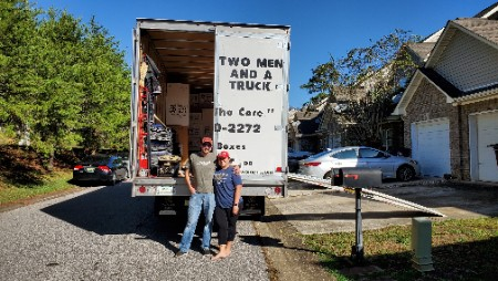 We can't believe it fit in one truck!