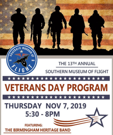 Southern Museum of Flight Veterans Day