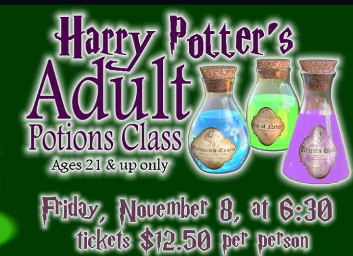 Harry Potter Potion Night