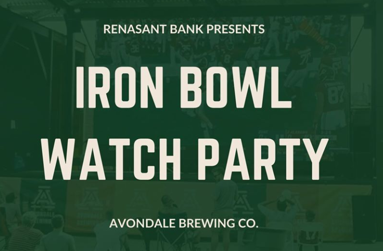 Iron Bowl at Avondale Brewing Co.
