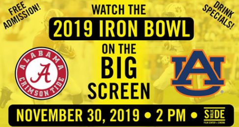Iron Bowl at Sidewalk Cinema