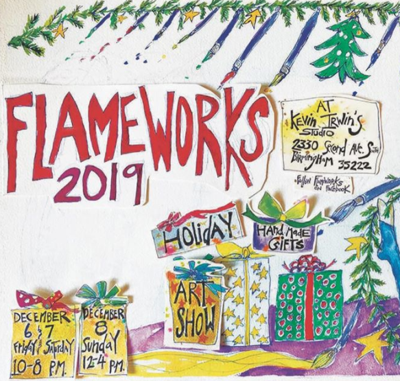 FlameWorks Holiday Art Show
