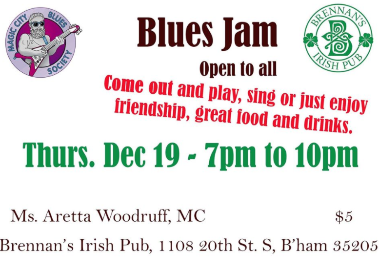 Holiday Blues Jam