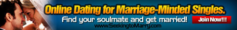 online dating for marriage minded singles