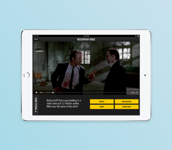 AMC | Film-lover's Enhanced Viewing Experience on iPad