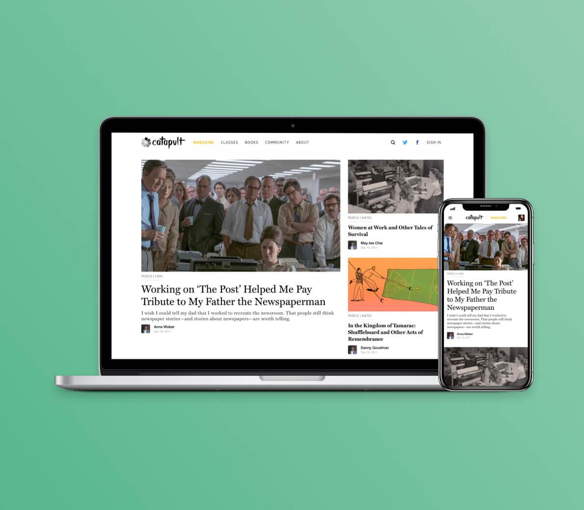 Catapult | Launching a Digital Literary Magazine