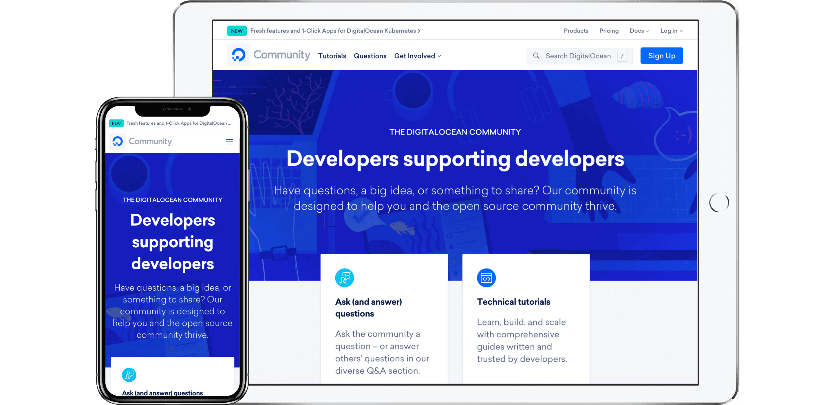 Digital Ocean Community Page