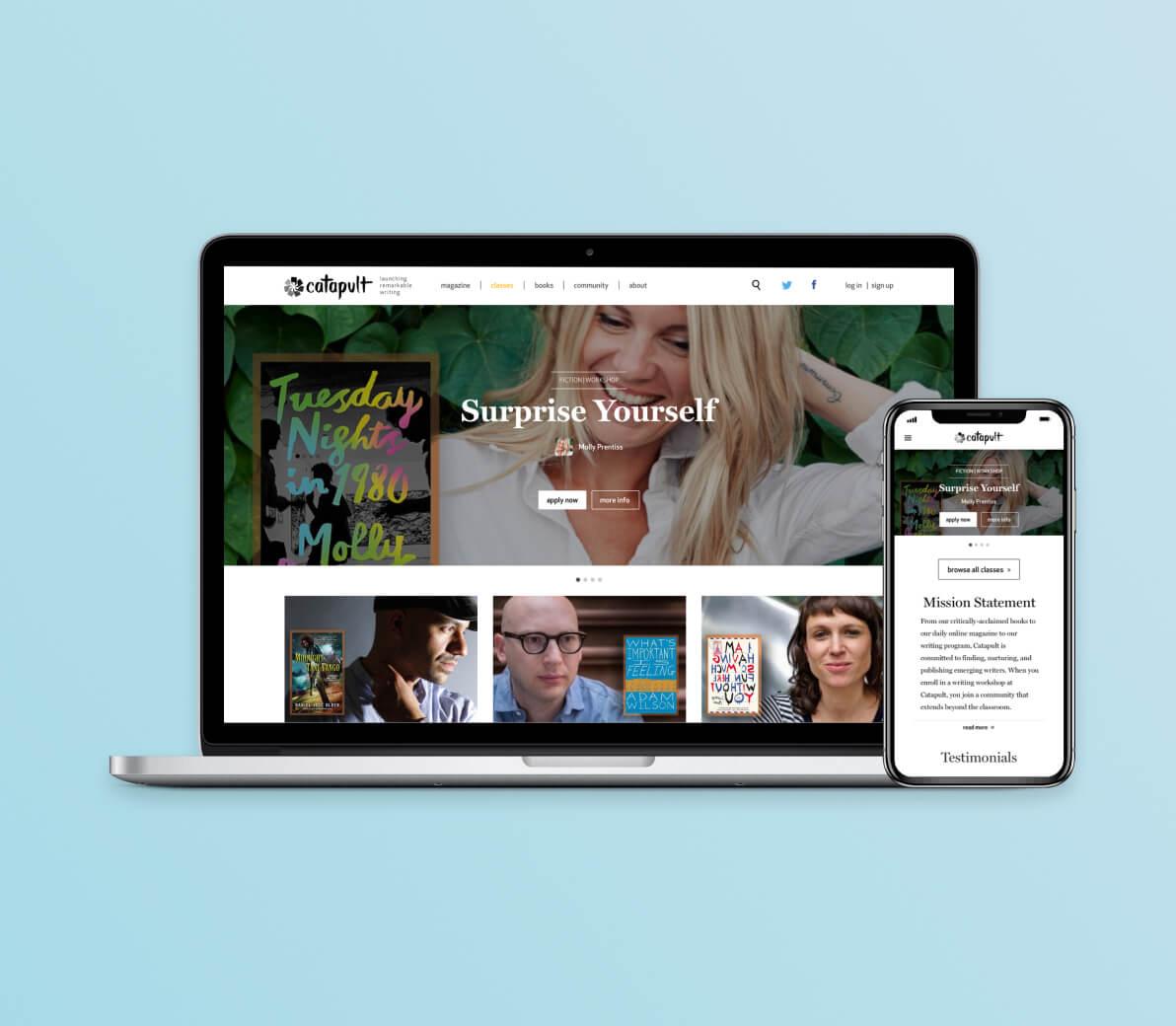 Catapult | Bringing Writing Workshops Online