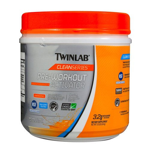 twinlab clean series pre workout activator