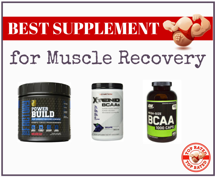 best supplements for muscle recovery