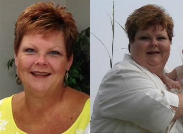 paleo weight loss before after debbie