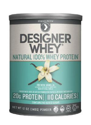 designer protein whey protein powder