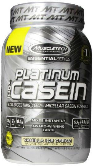 muscletech platinum casein protein powder
