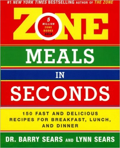 zone meals in seconds book