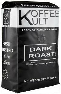 koffee kult dark roasted coffee