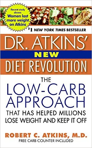dr atkins diet book