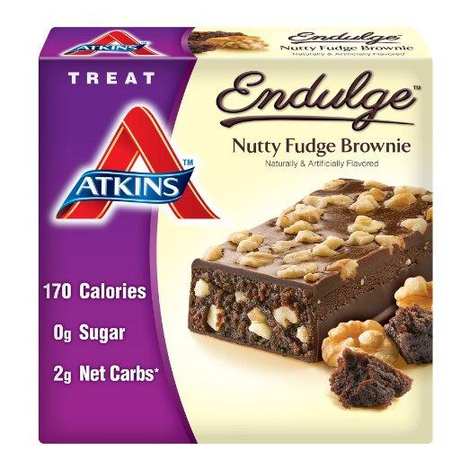 atkins endulga treats nutty fudge brownie
