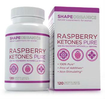 shape organics raspberry ketones