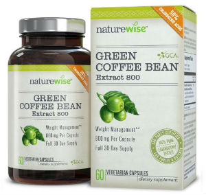 nature wise green coffee bean extract