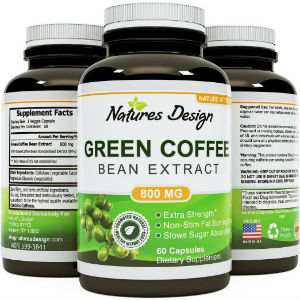 natures design green coffee bean extract
