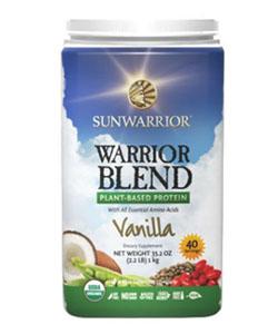 sunwarrior vegan protein blend