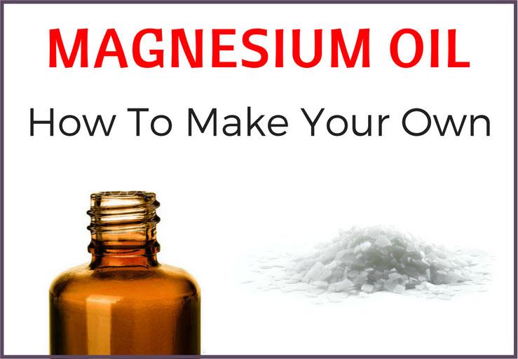 magnesium oil recipe