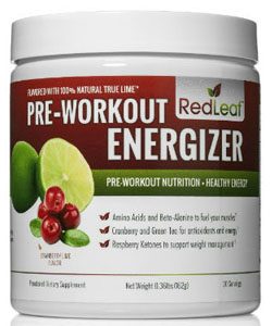 red leaf pre workout energizer
