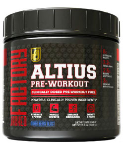 altius pre workout supplement