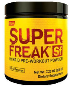 strongest pre workout supplements