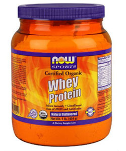 now foods organic whey protein