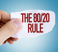8020 rule weight gain