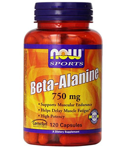 now foods beta alanine supplement