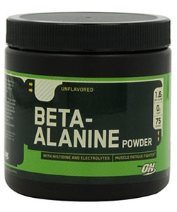 optimum nutrition beta alanine supplement