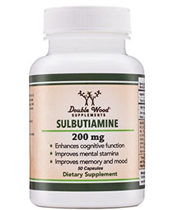 sulbutiamine double woods uspplement