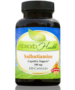 absorb health sulbutiamine supplement