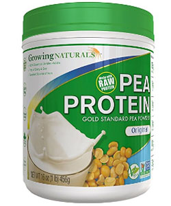 growing naturals pea protein powder