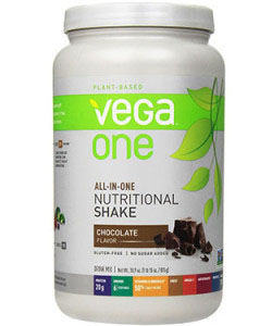 vega one all in one chocolate protein powder