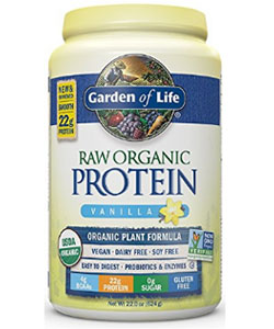 garden of life raw protein powder