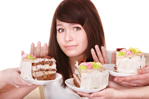 refusing cake appetite loss glutamine