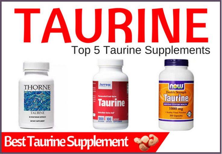 best taurine supplement