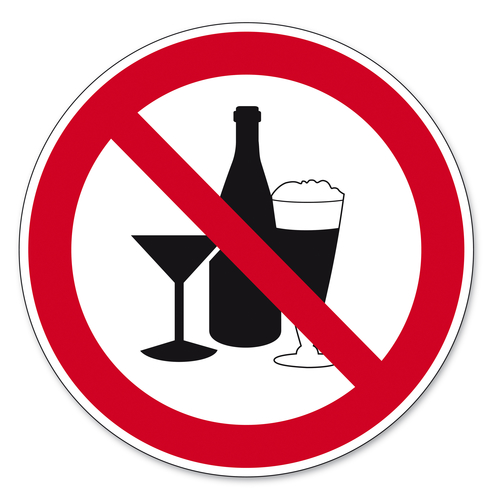 avoid alcohol image
