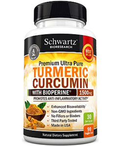 schwarz bioresearch turmeric curcumin with bioperine