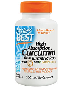 doctors best high absorbency curcumin supplement