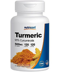 nutricost turmuric curcumin supplement