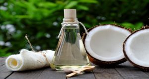 fractionated liquid coconut oil