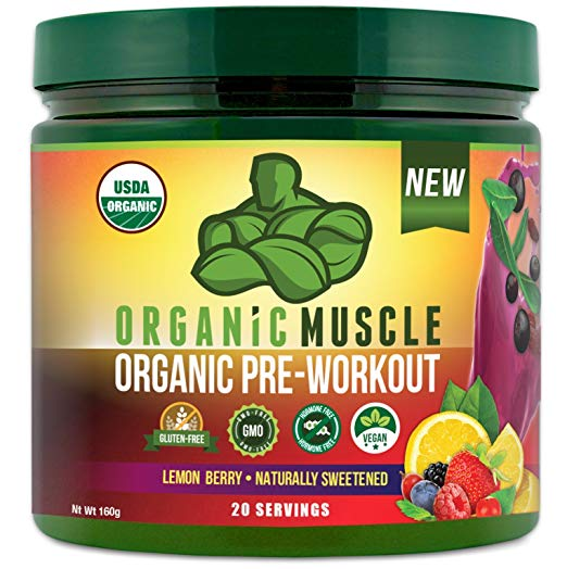 organic muyscle pre workout