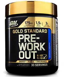 optimum nutrition pre workout with creatine