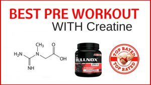 best pre workout with creatine image