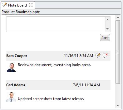 Travailler avec les forums de notes SharePoint